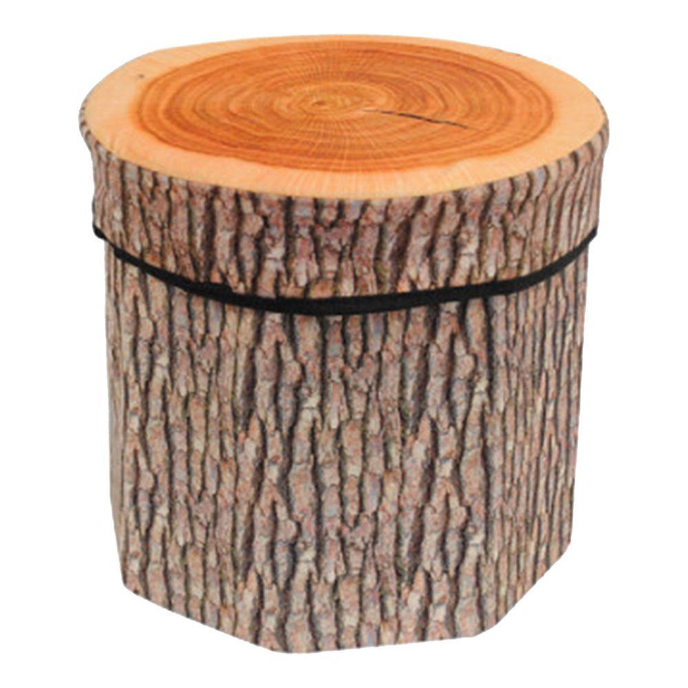 日本代購 - 寫實風折疊收納椅-木頭 (30x30x29cm)