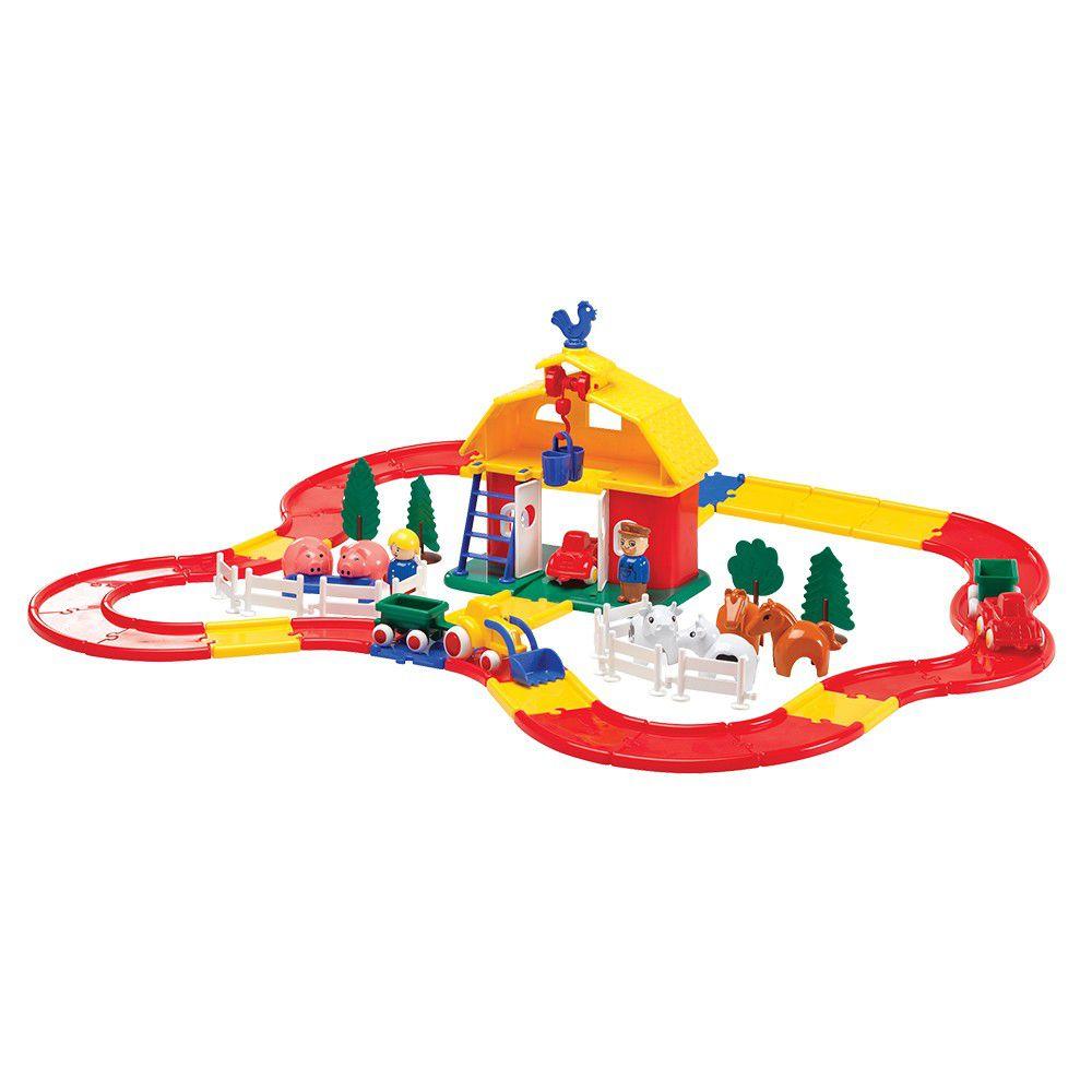 瑞典 Viking toys - 【新品】公雞穀倉夢想動物組