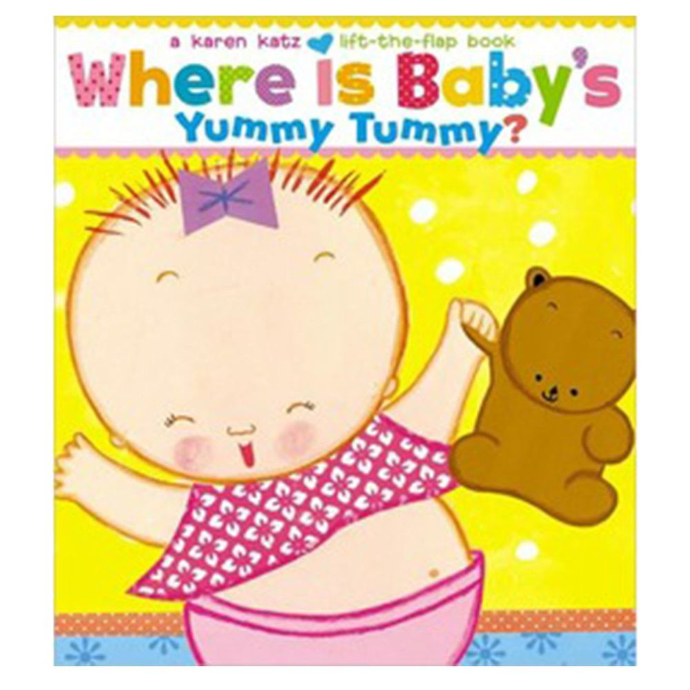 Where Is Baby's Yummy Tummy?肚子在哪裡?