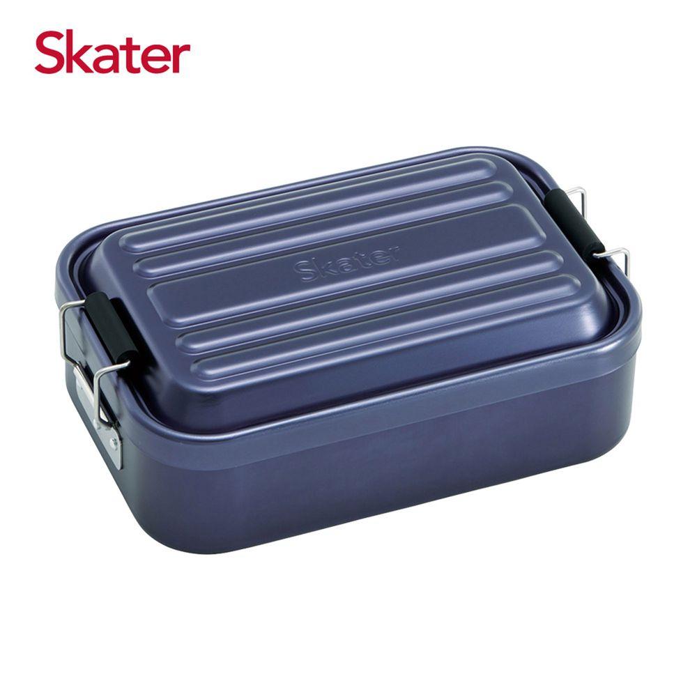 日本 SKATER - 行李箱便當盒-藍