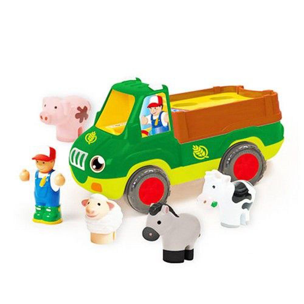 英國驚奇玩具 WOW Toys - 農場卡車 佛雷迪