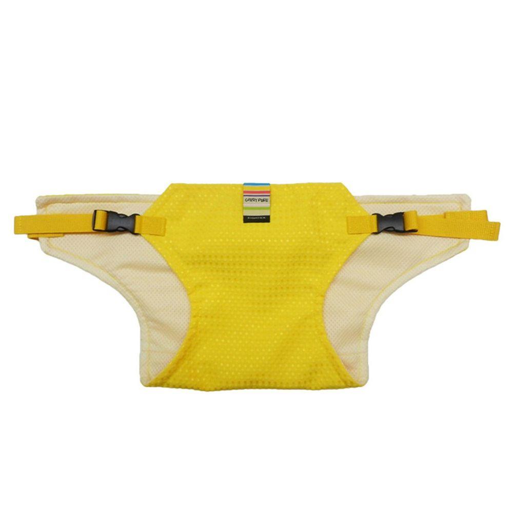 akachan honpo - 幼兒椅子固定帶(潑水×網眼)-黃色- EIGHTEX