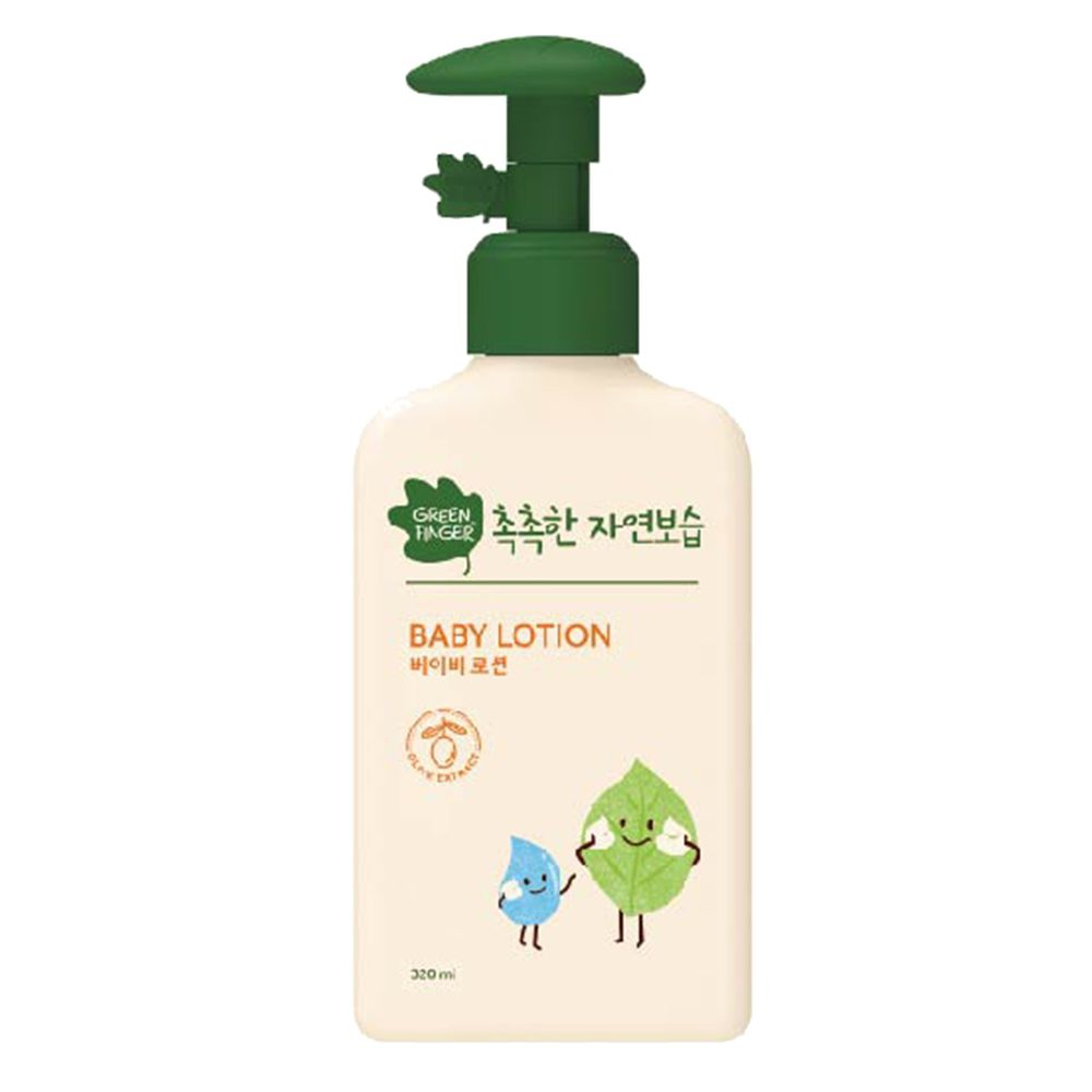 Green Finger - 綠手指 CHOKCHOK三效保濕嬰幼兒系列-潤膚乳液-320ml