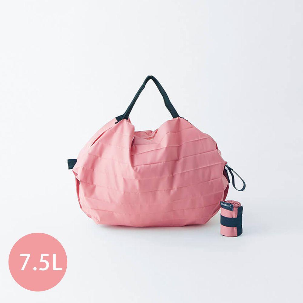 日本 MARNA - Shupatto 秒收摺疊購物袋-五週年限定升級款-蜜桃粉 (S(30x26cm))-耐重3kg / 7.5L