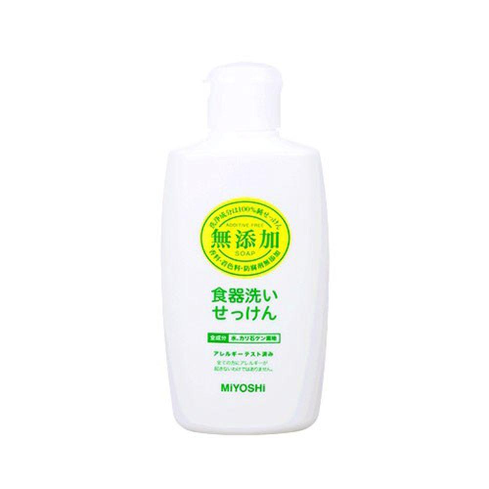 日本 MIYOSHI 無添加 - 餐具清潔液-370ml