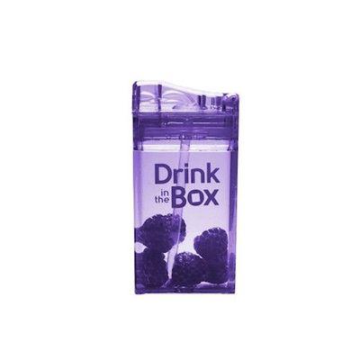 Tritan兒童戶外方形吸管杯-紫色 (235ML)