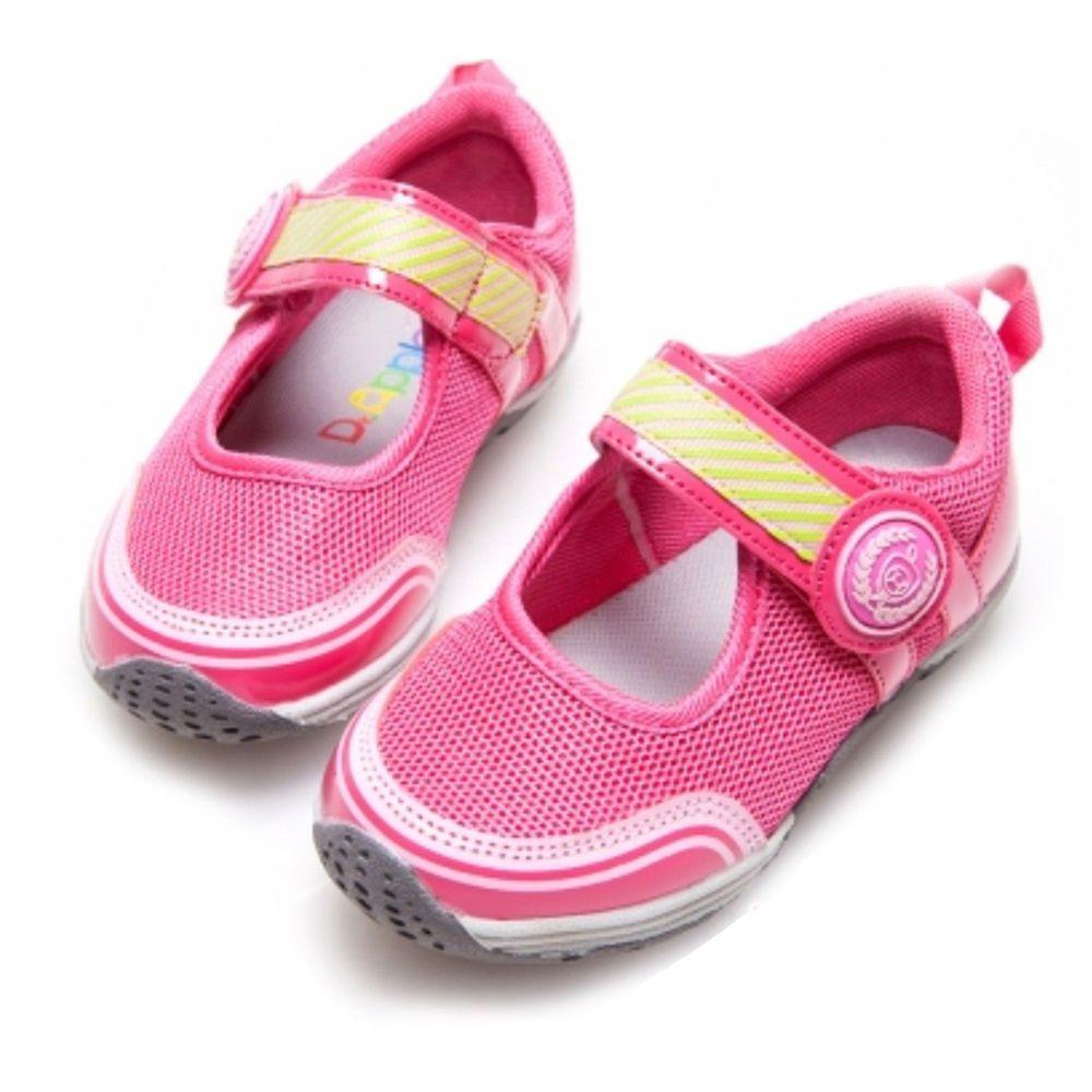 Dr. Apple - 機能童鞋-運動風元素女孩-粉