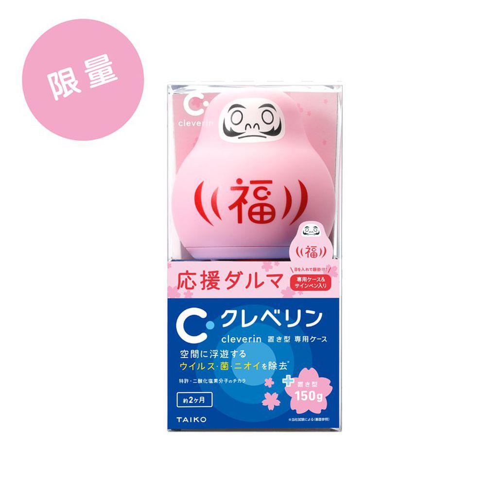 日本大幸 加護靈 cleverin - 粉色不倒翁 櫻花版 祈願不倒翁-櫻花限定版不倒翁x1+胖胖瓶x1