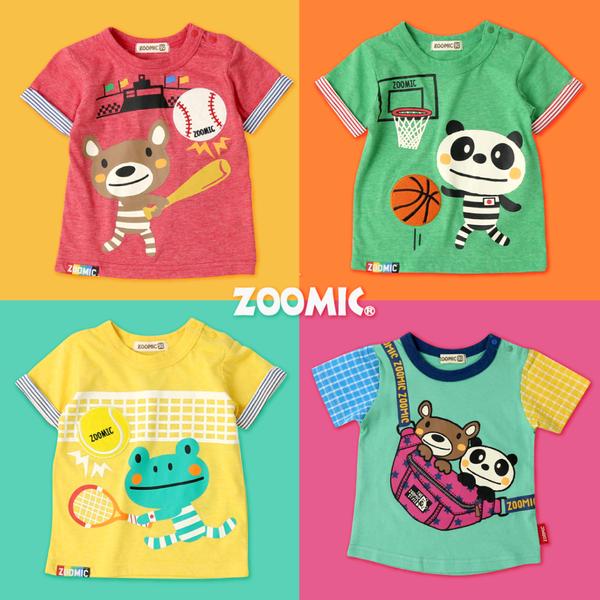 日本 ZOOMIC 動物造型夏裝 #新品同步連線