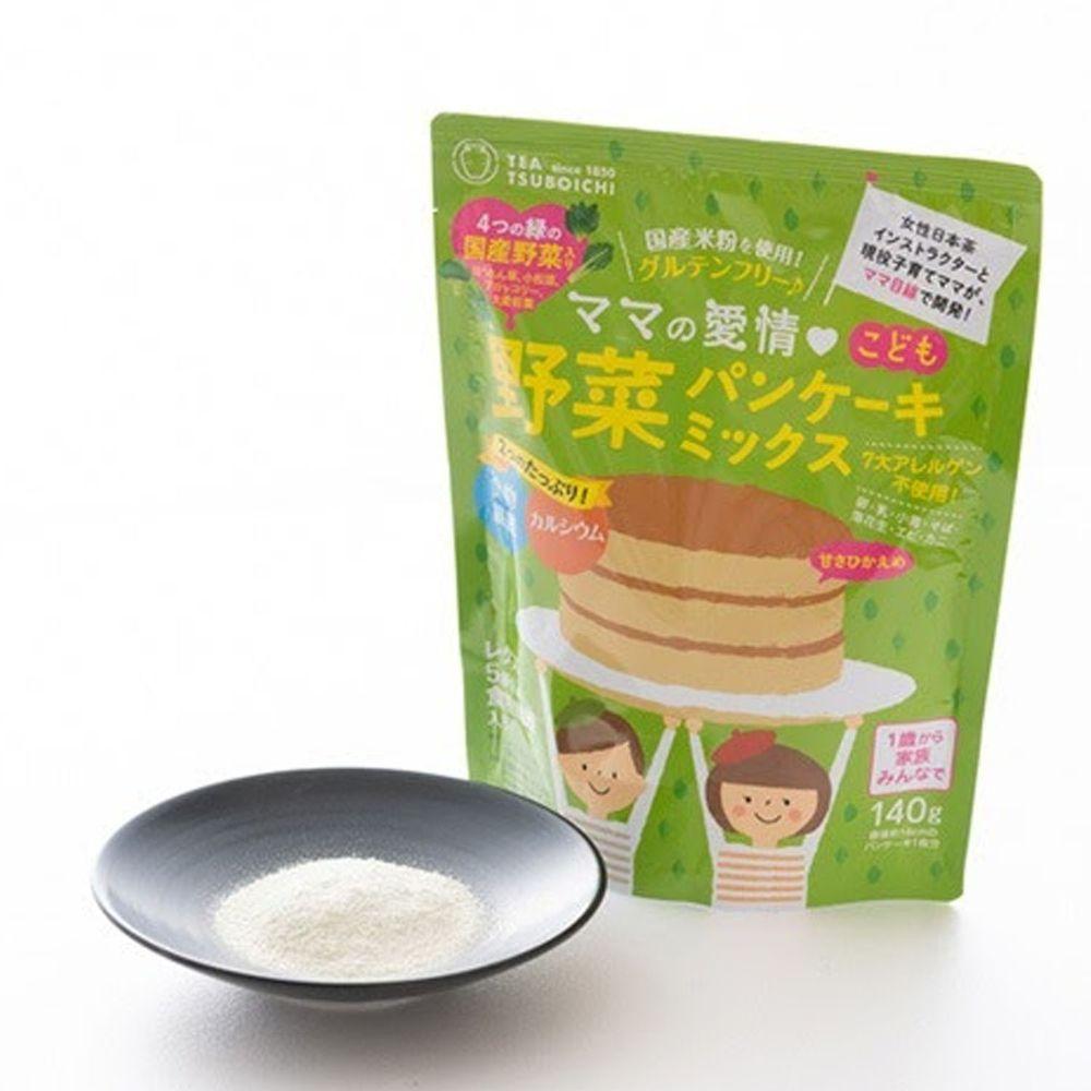日本つぼ市製茶本舗 - 蔬菜鬆餅粉-140g