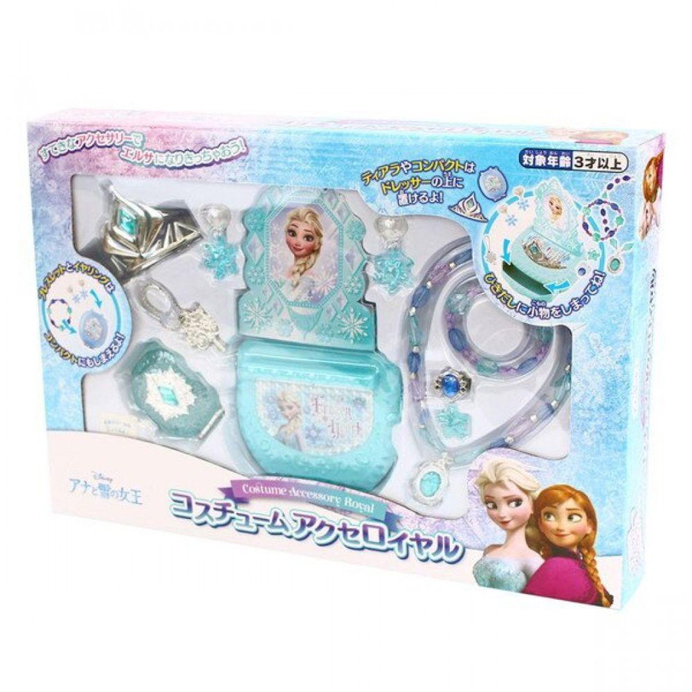 Disney 迪士尼 - 《 Disney 迪士尼 公主 》冰雪奇緣皇冠珠寶盒組
