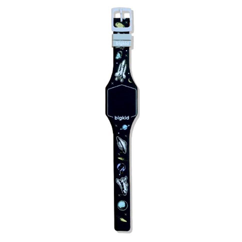韓國 bigkid - 香香LED電子錶-黑(葡萄香)