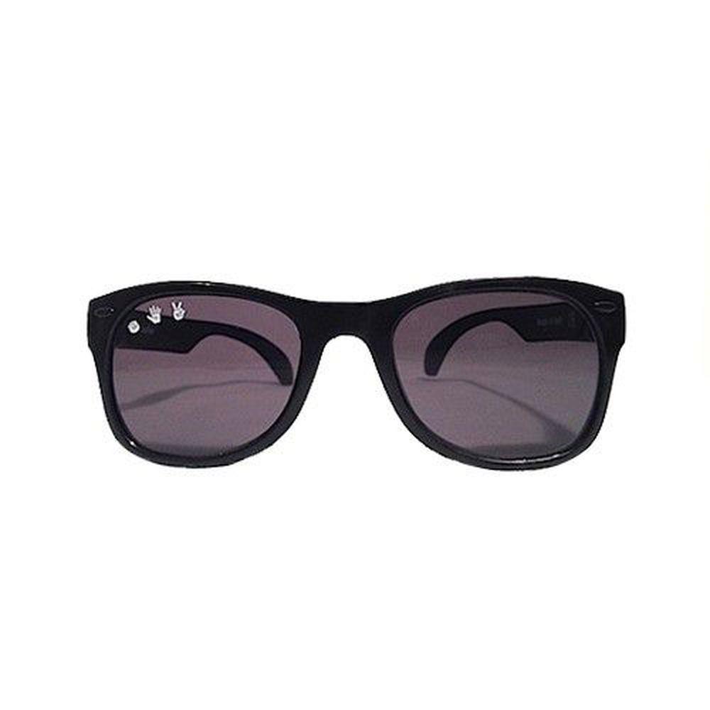 美國 Roshambo - Roshambo繽紛視界 時尚墨鏡-成人款-時尚黑 (L/XL)