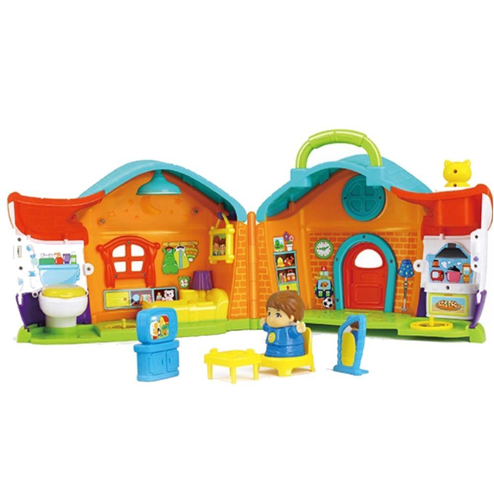 香港 HOLA - 幼兒聲光玩具-男孩故事學習屋