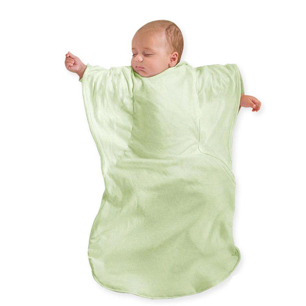 Summer Infant - 小蝴蝶背心睡袋-粉綠草原-適用年齡:3個月以上嬰幼兒