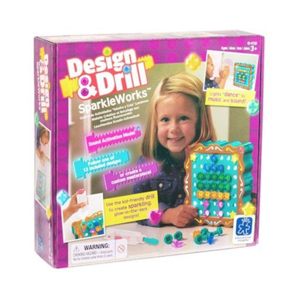 美國 Educational Insights - Design & Drill-搖滾舞台(聲控版)