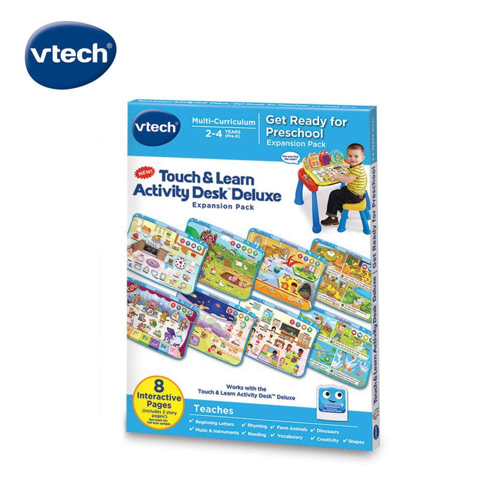 Vtech - 互動學習點讀桌圖鑑套卡組-學齡前認知啟蒙(2-4Y)