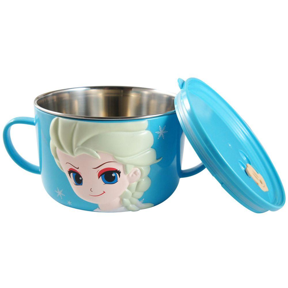 Disney - 不鏽鋼大杯碗(400ml)-冰雪奇緣