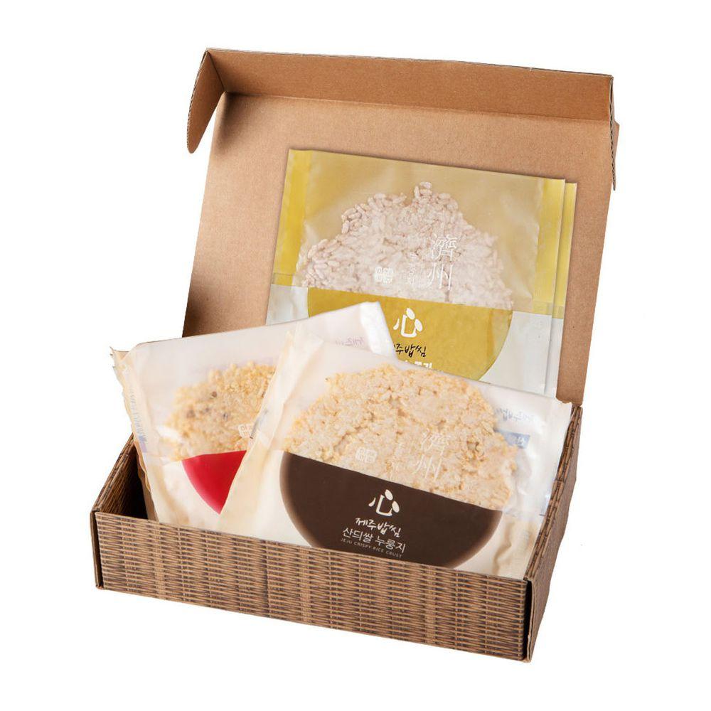 JejuMami 濟州媽咪 - 濟州之心鍋巴餅三重奏禮盒  (10包/20片)-(有效期限 05/28/2021)