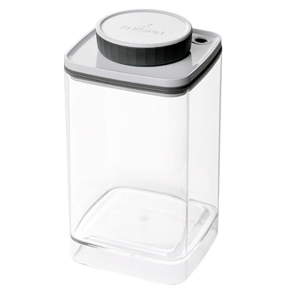 Ankomn - Turn-n-Seal真空保鮮盒-灰 (大)-1.2L