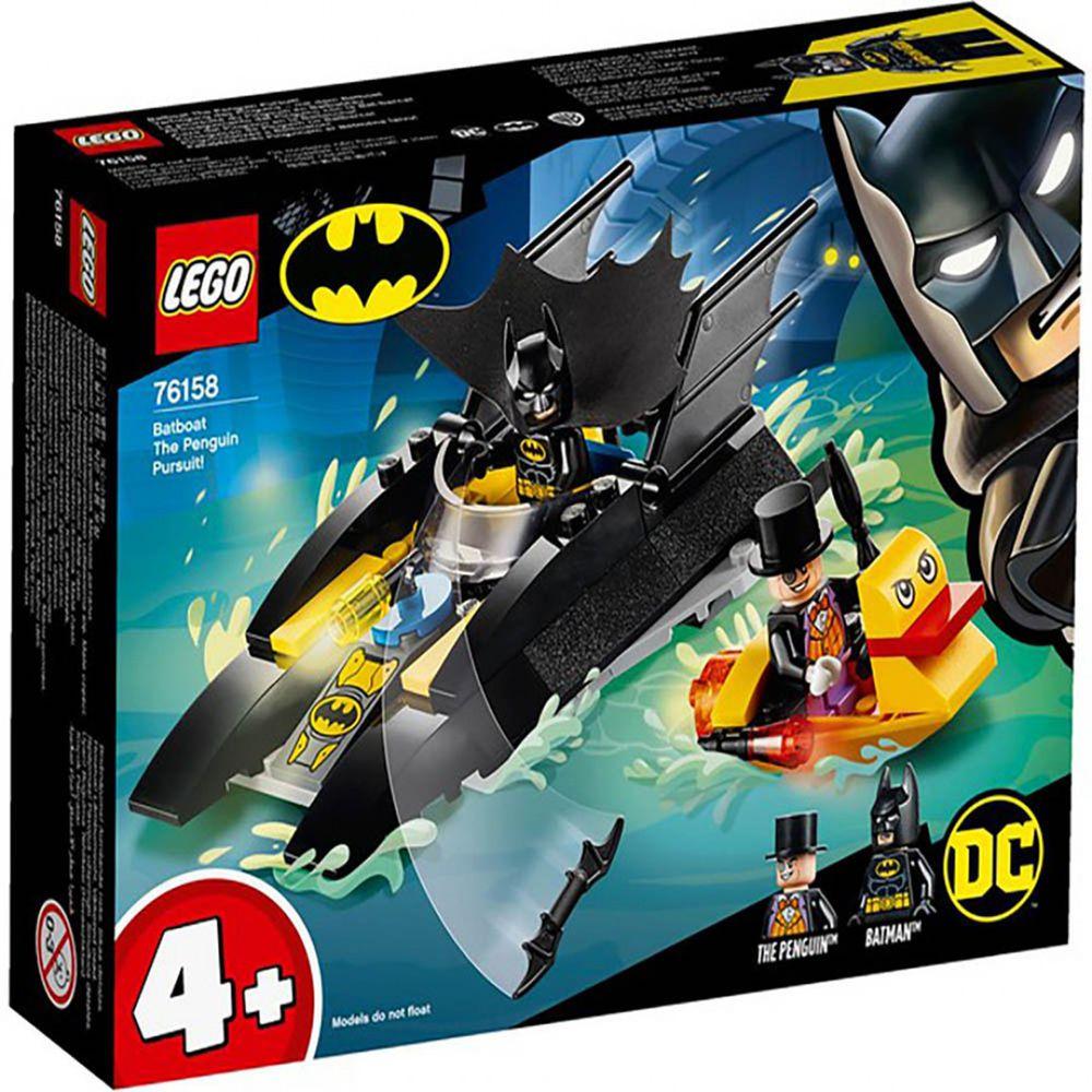 樂高 LEGO - 樂高積木 LEGO《 LT76158 》SUPER HEROES 超級英雄系列 - Batboat The Penguin Pursuit!-54pcs
