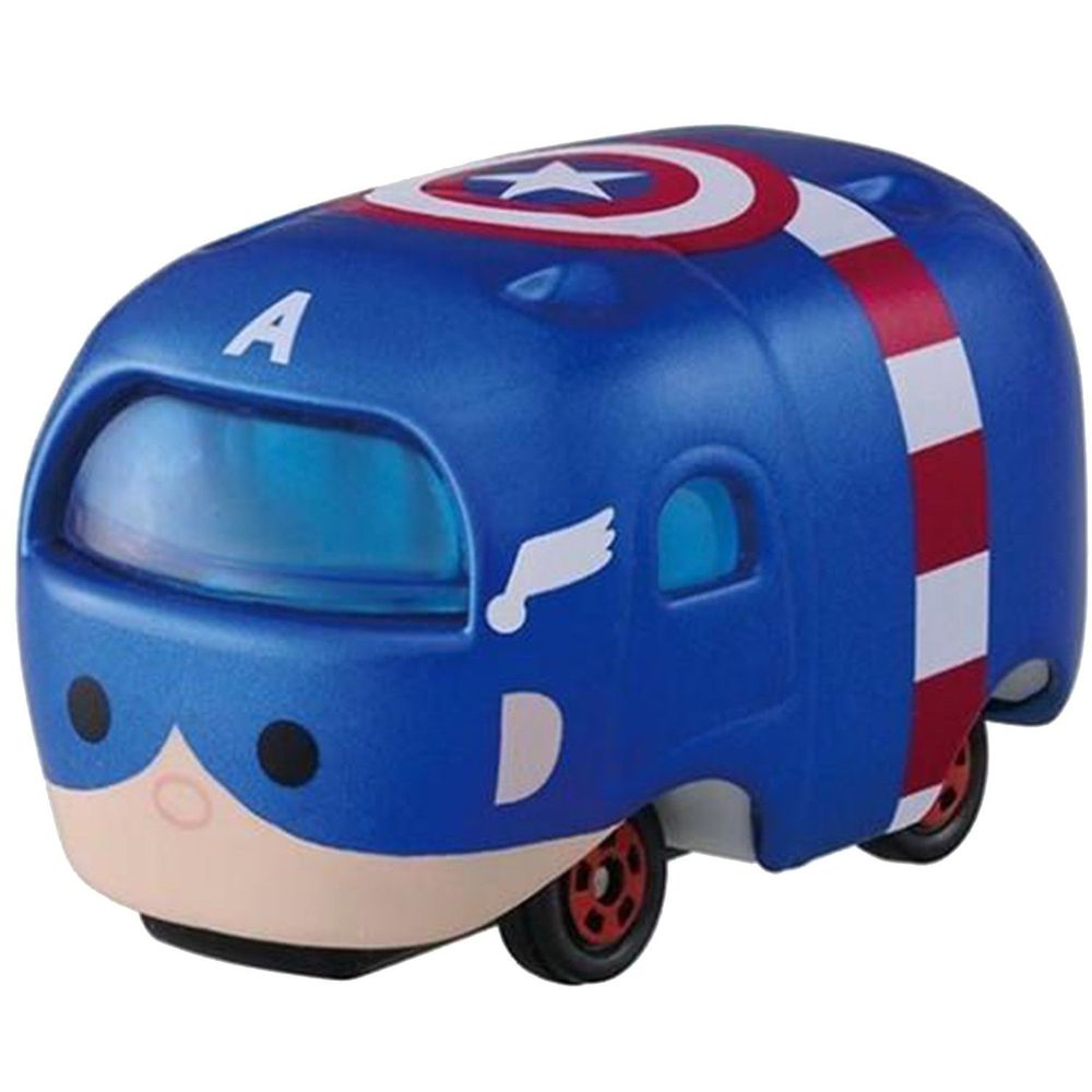 Tomica - 【TOMICA】Disney Tsum Tsum! 疊疊樂小車 漫威 美國隊長