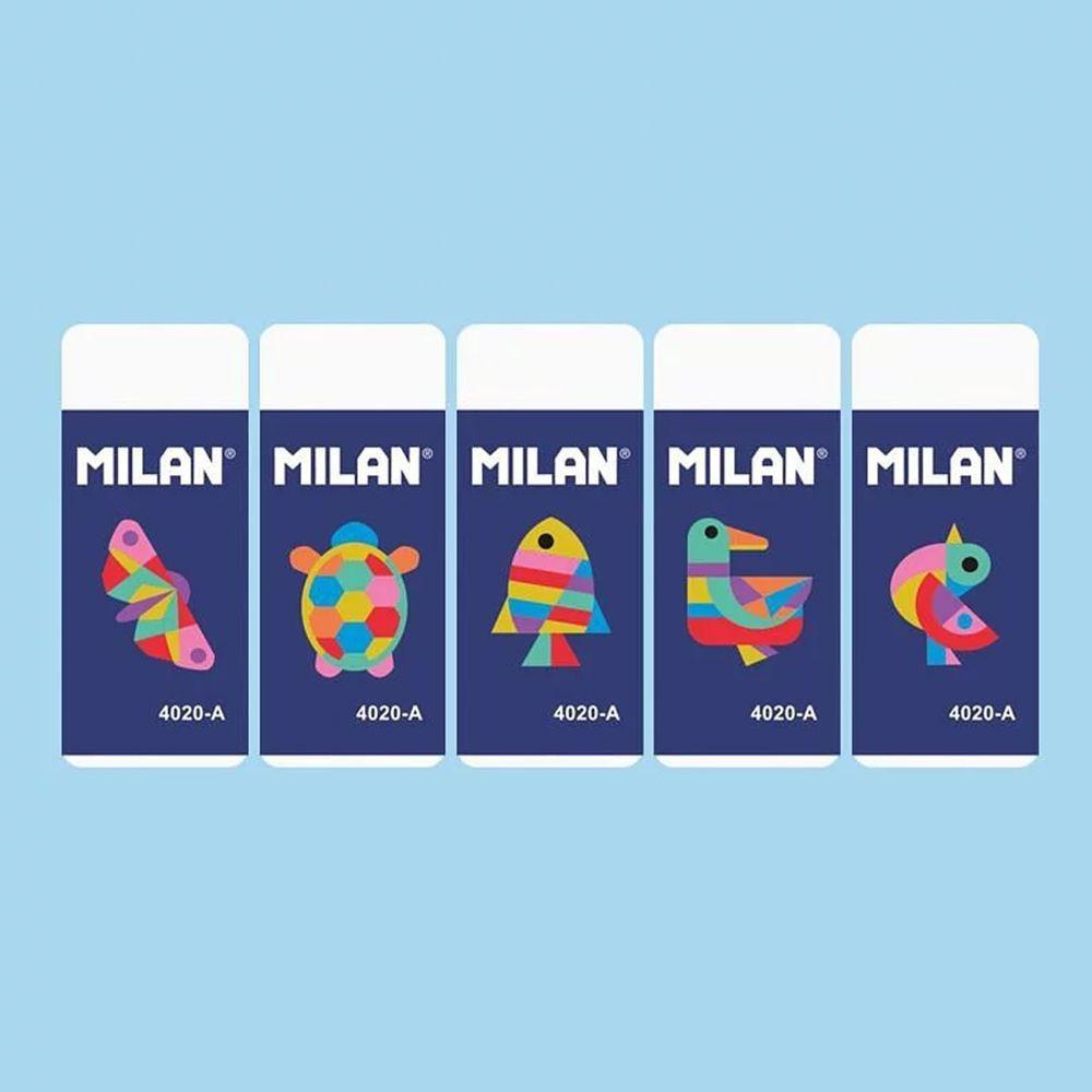 MILAN - 經典橡皮擦-幾何動物(5入)