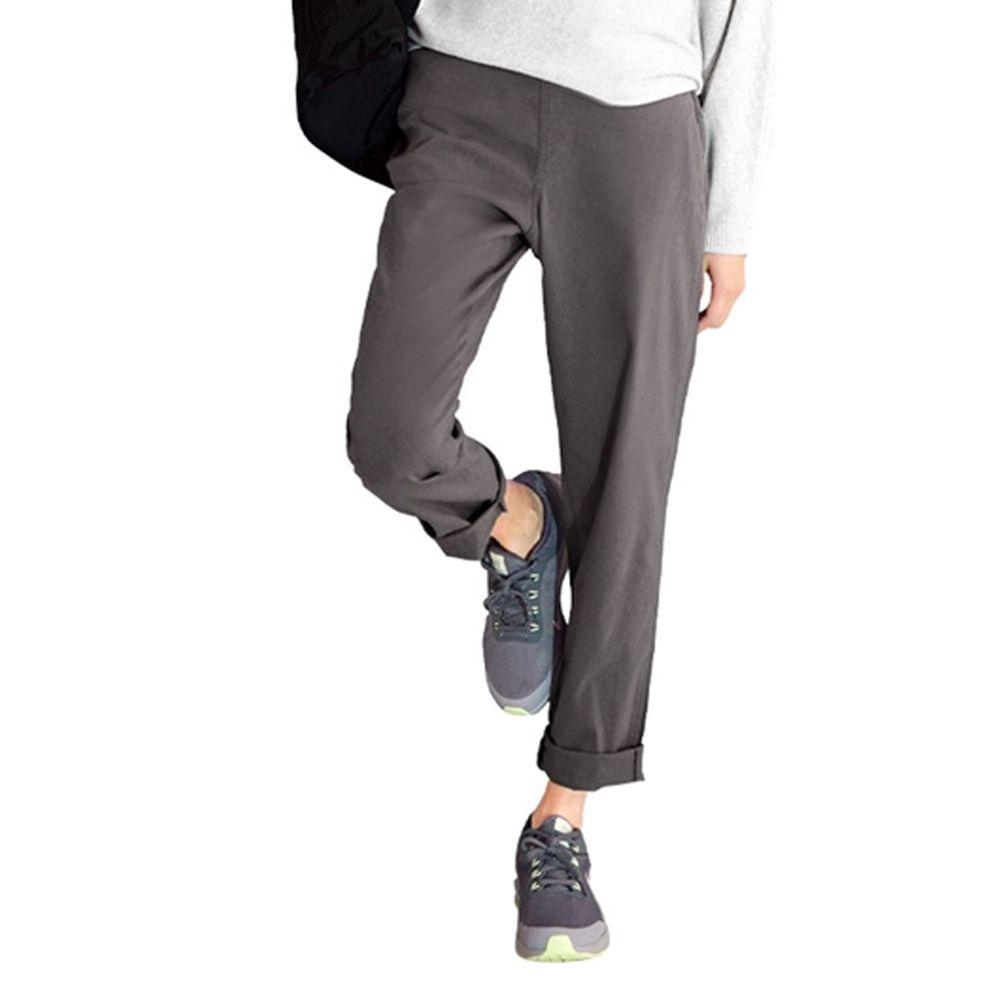 日本 zootie - (剩L/LL) Air Pants 輕薄彈性男友風寬鬆長褲-深灰