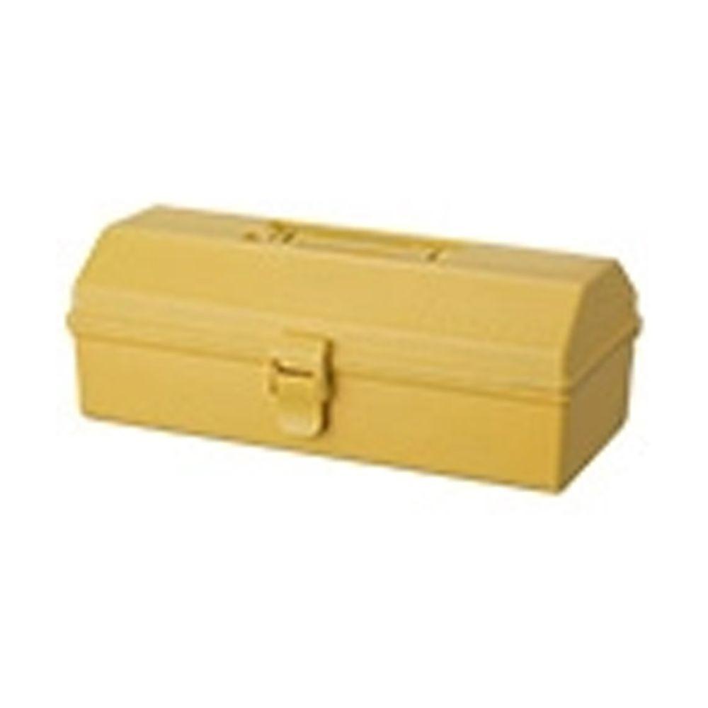 日本天馬 - HACOTTO 長形多功能PP手提式收納工具箱-奶油黃