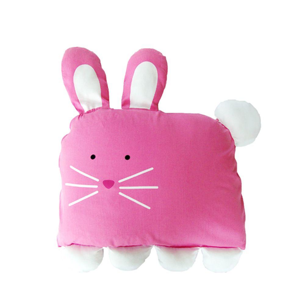 美國 Milo & Gabby - 動物好朋友-可水洗防蹣枕心+枕套組-LOLA兔兔 (大枕-2歲以上)
