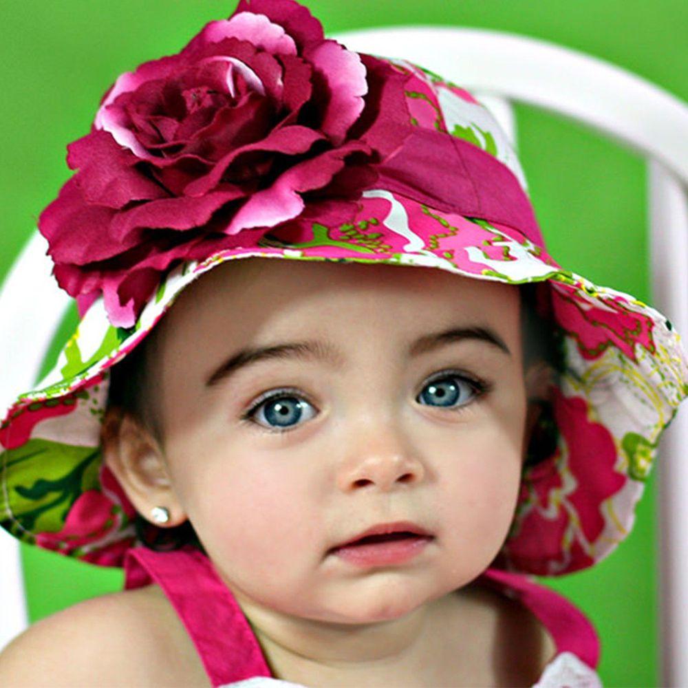 美國 Fancy That Hat - 大花抗UV防曬遮陽帽-繽紛花卉