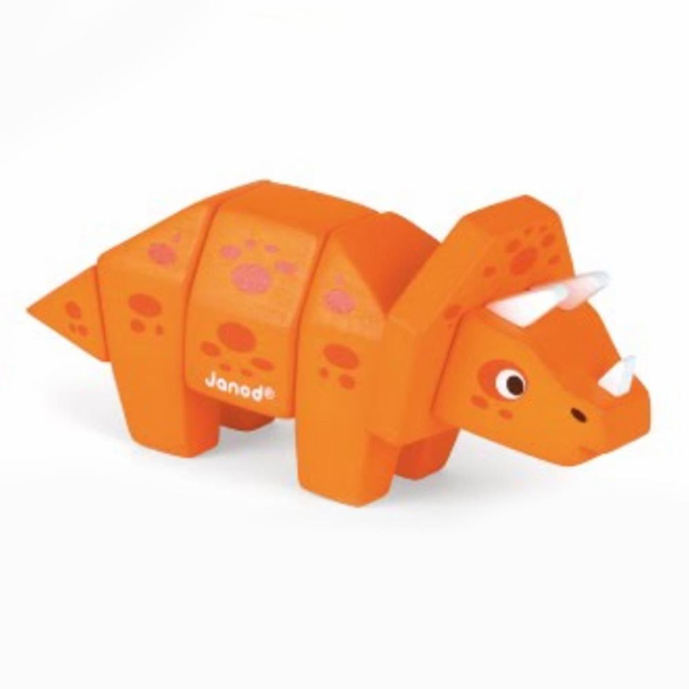 Janod - 立體動物拼-三角龍