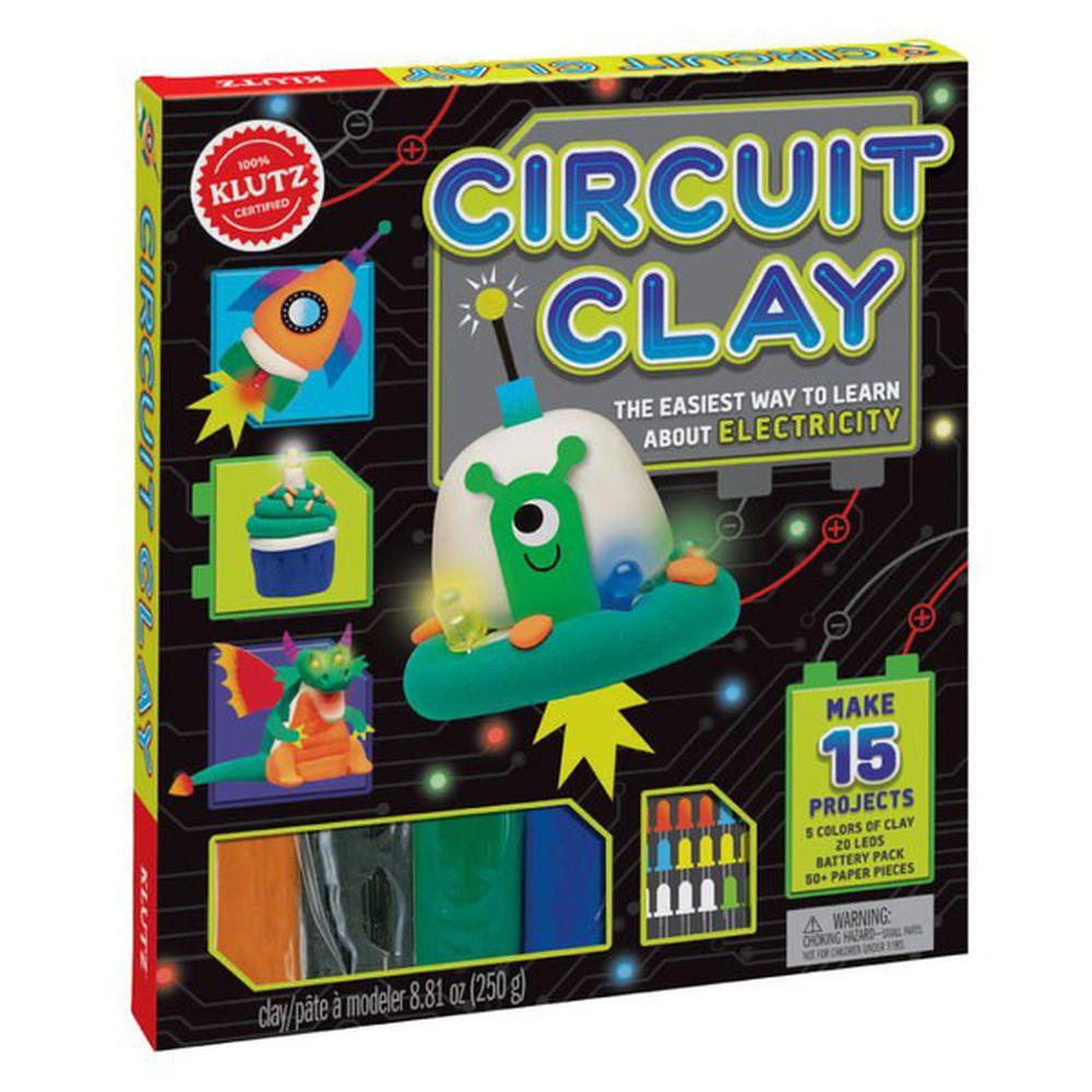 美國KLUTZ創意遊戲書 - circuit clay 科學電力陶土