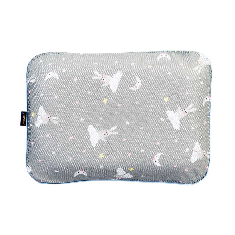 韓國 GIO Pillow - 超透氣防螨兒童枕頭-單枕套組-晚安兔兔 (L號)-2歲以上適用