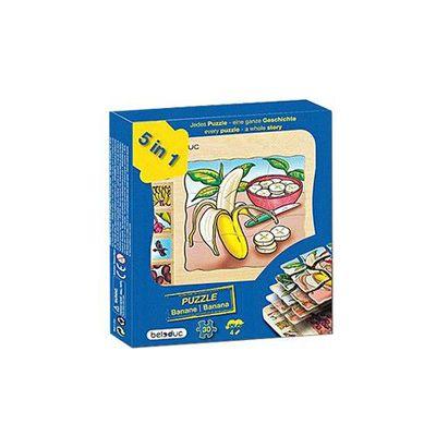 多層木拼圖-香蕉
