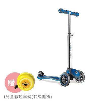 Globber哥輪步 兒童2合1三輪滑板車-天空藍-【媽咪愛獨家送】兒童彩色車鈴(款式隨機送完為止)
