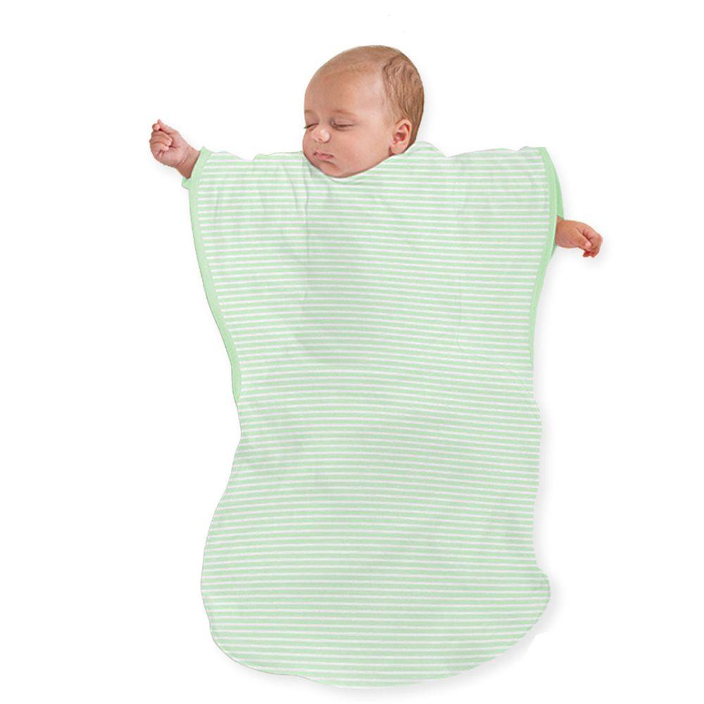 Summer Infant - 蝴蝶背心睡袋-嫩綠條紋 (加大)-適用年齡:9個月以上嬰幼兒