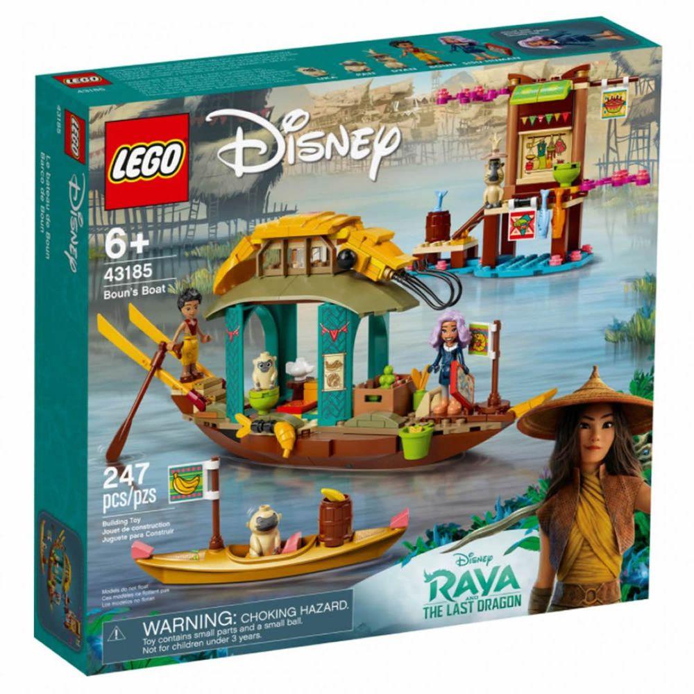 樂高 LEGO - 樂高積木 LEGO《 LT43185 》迪士尼公主系列 - Boun's Boat-247pcs