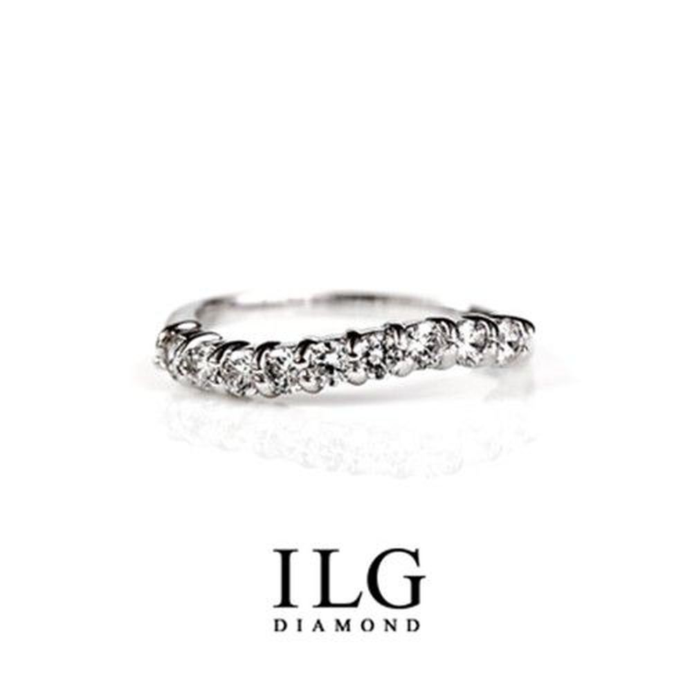 美國ILG鑽飾 - NewYork Love 線戒款 可當尾戒 熱銷款線戒-頂級美國ILG鑽飾,媲美真鑽亮度的鑽飾-加贈高級珠寶級絨布盒1個-外國抗敏材質電鍍頂級白K金色