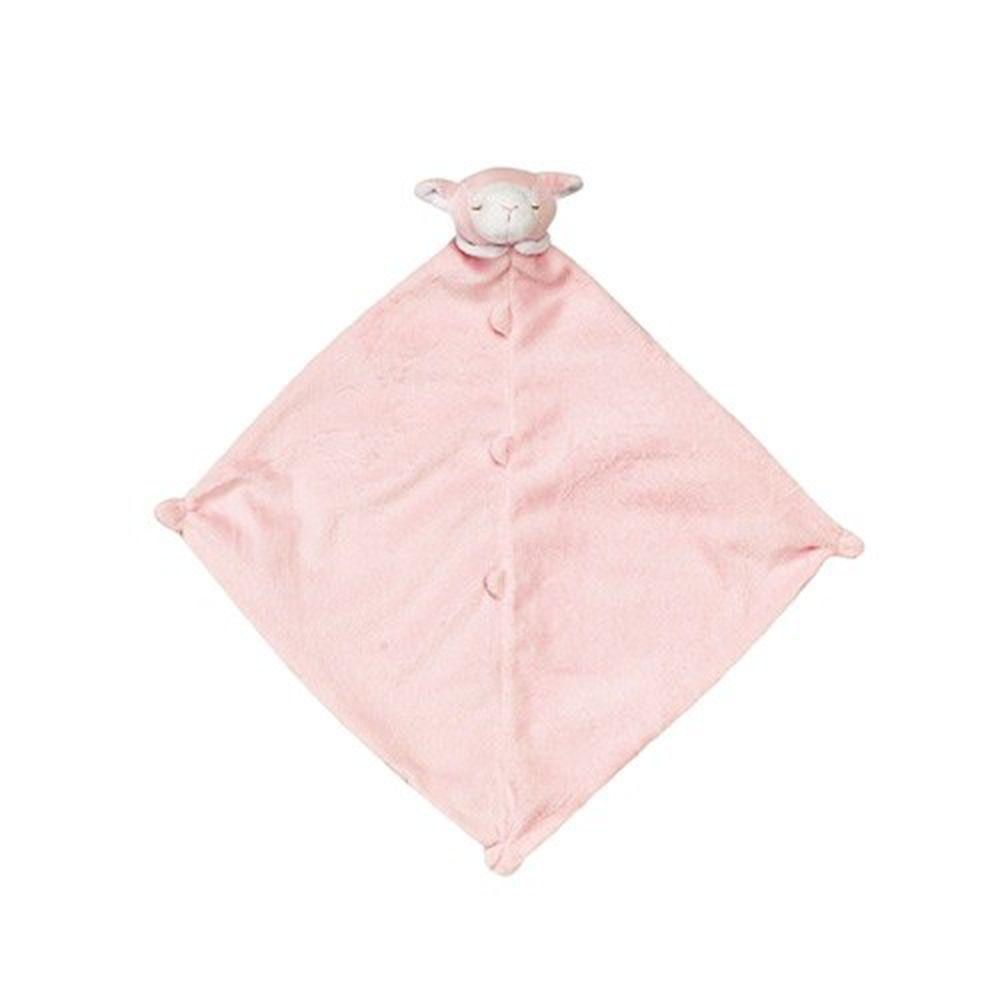 美國 Angel Dear - 動物嬰兒安撫巾-粉紅小羊