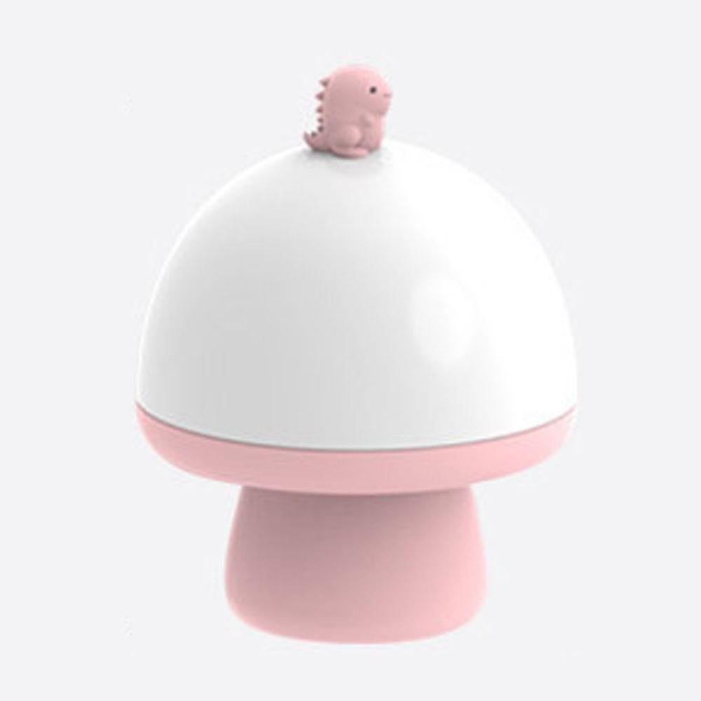 韓國 - 音樂投影奇幻小夜燈-恐龍-粉紅 (16.1X12.5cm)