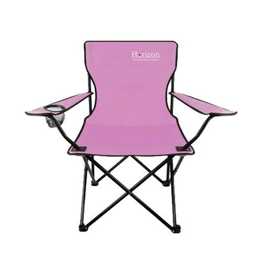 加拿大天際線 Horizon - 輕便折疊野餐椅-蜜桃粉