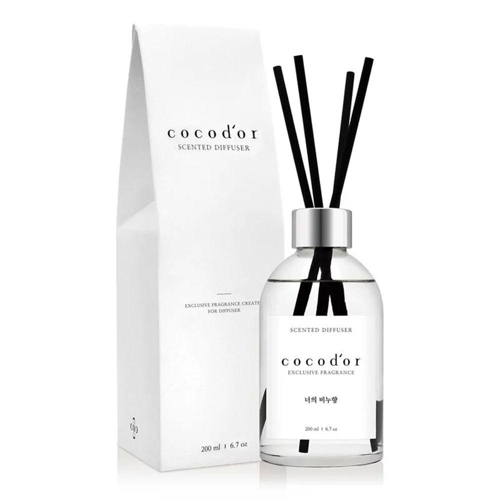 韓國 cocodor - WHITE LABEL 擴香瓶-純淨皂香-200ml