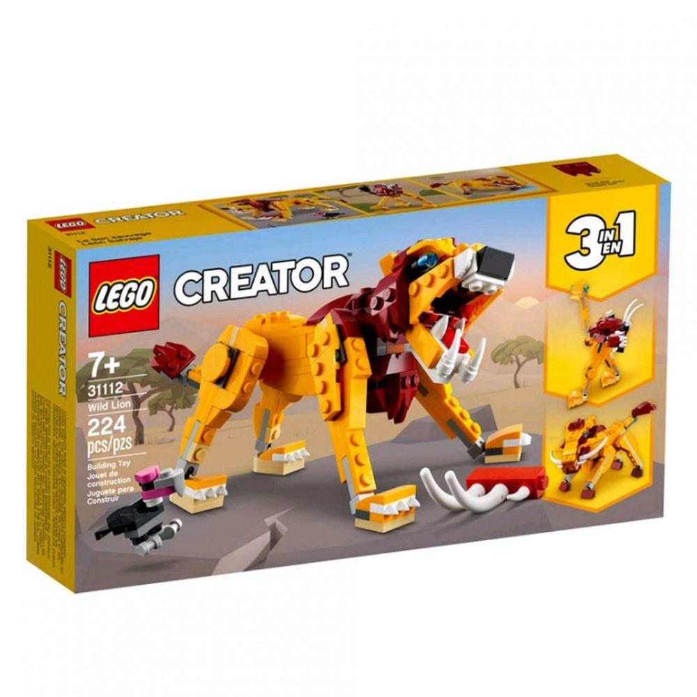 樂高 LEGO - 樂高積木 LEGO《 LT31112 》創意大師 Creator 系列 - 野獅-224pcs