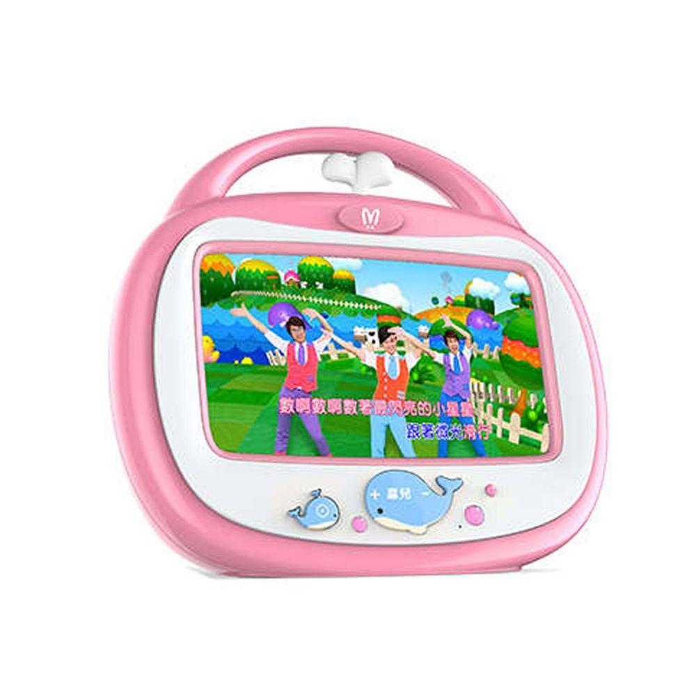 昌兒 - 小鯨魚唱跳機-粉色-32G (附一隻粉色麥克風)