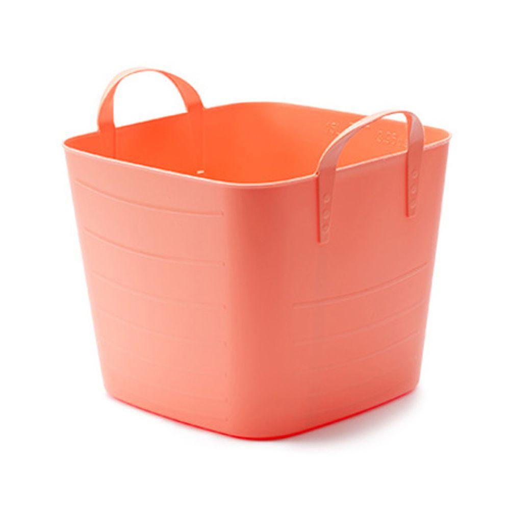 日本stacksto - 經典收納巧思籃(S)-粉紅 (30*30*28.8cm)