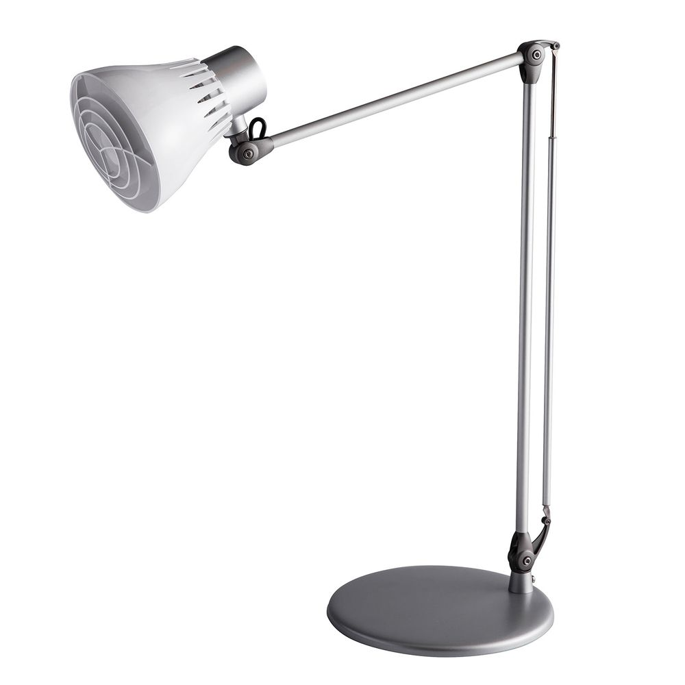 DEXLIGHT 德克斯檯燈 - COLORS樂樂 親子伴讀燈-座夾兩用-銀白色