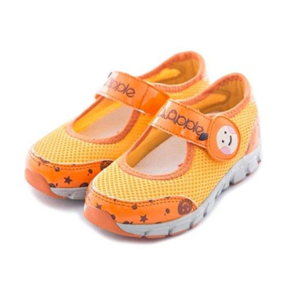 Dr. Apple - 機能童鞋-氣質蘋果休閒涼鞋-橘