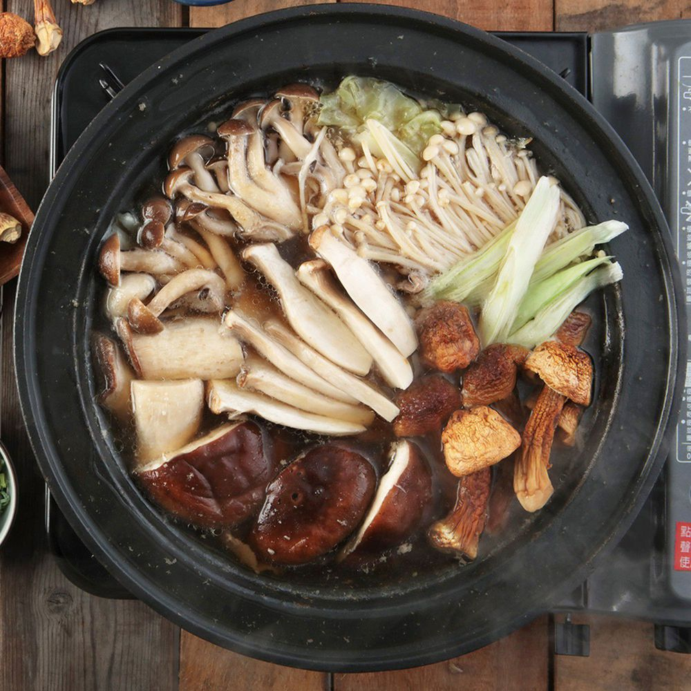 GREEN & SAFE 永豐餘生技 - 牛肝菌菇雞湯鍋(湯底)-1000g/包