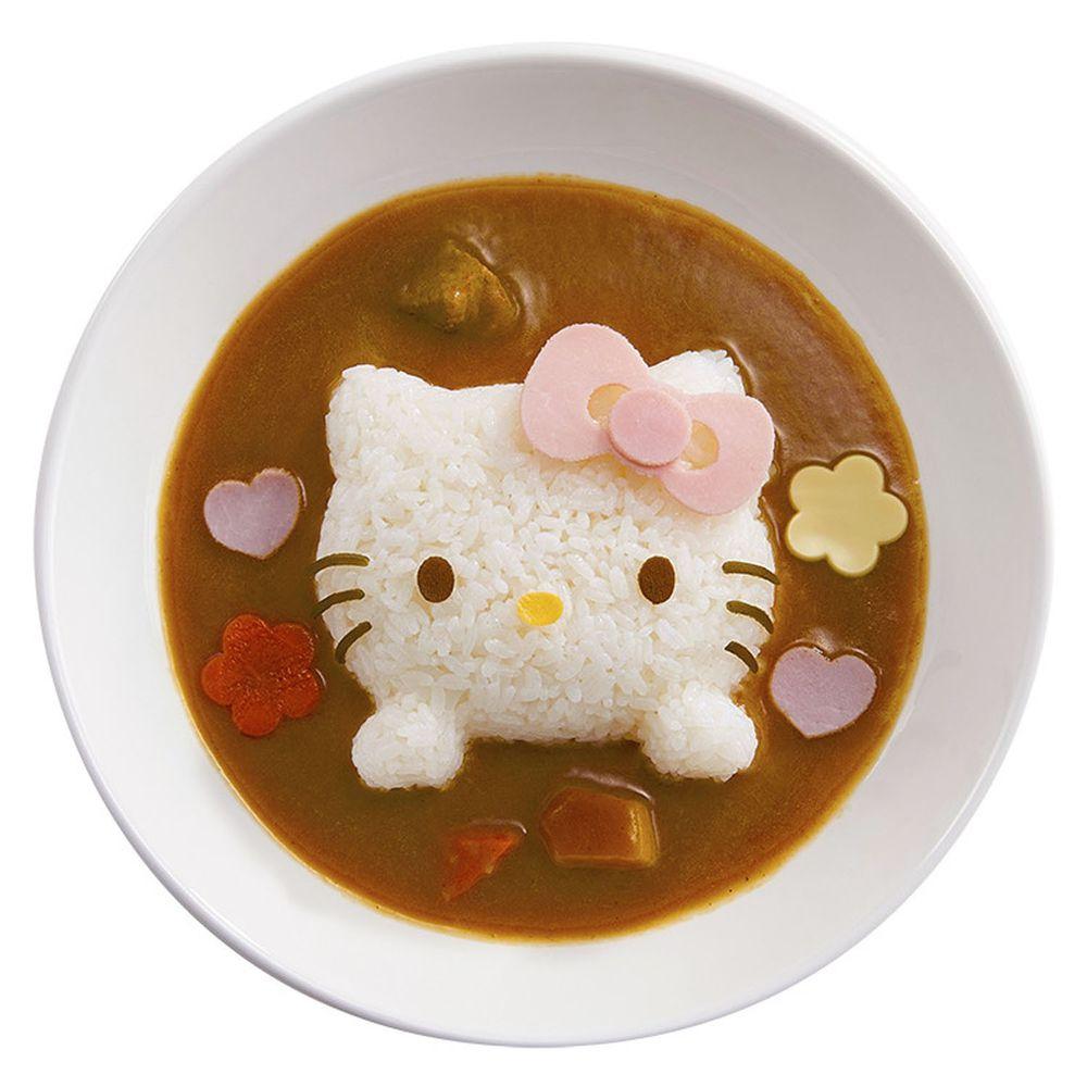 日本 OSK - 日本製米飯模具組-Hello Kitty